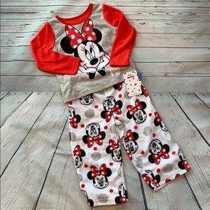 🎀Disney Minnie Mouse Fleece Pajamas